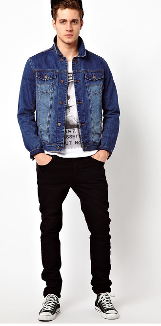 Go With The Trend And Get Denim Jackets For Men | Camo Pants