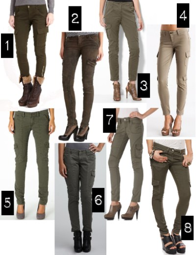 Endless Fashion Possibilities With Skinny Cargo Pants | Camo Pants