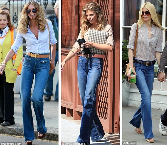 All About High Waisted Flare Jeans