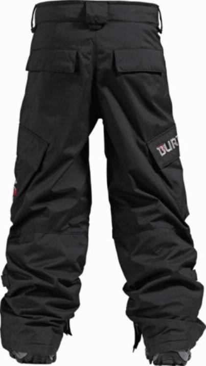 Borton Boys Black Cargo Pants