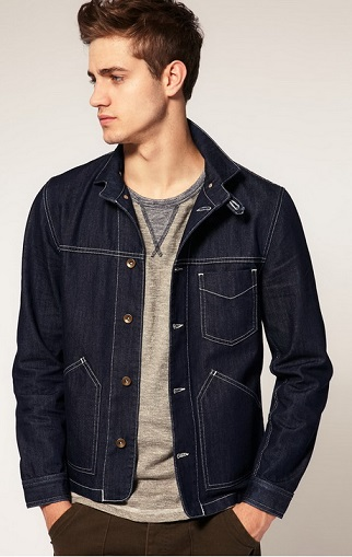 Casual Jeans Jacket for Men