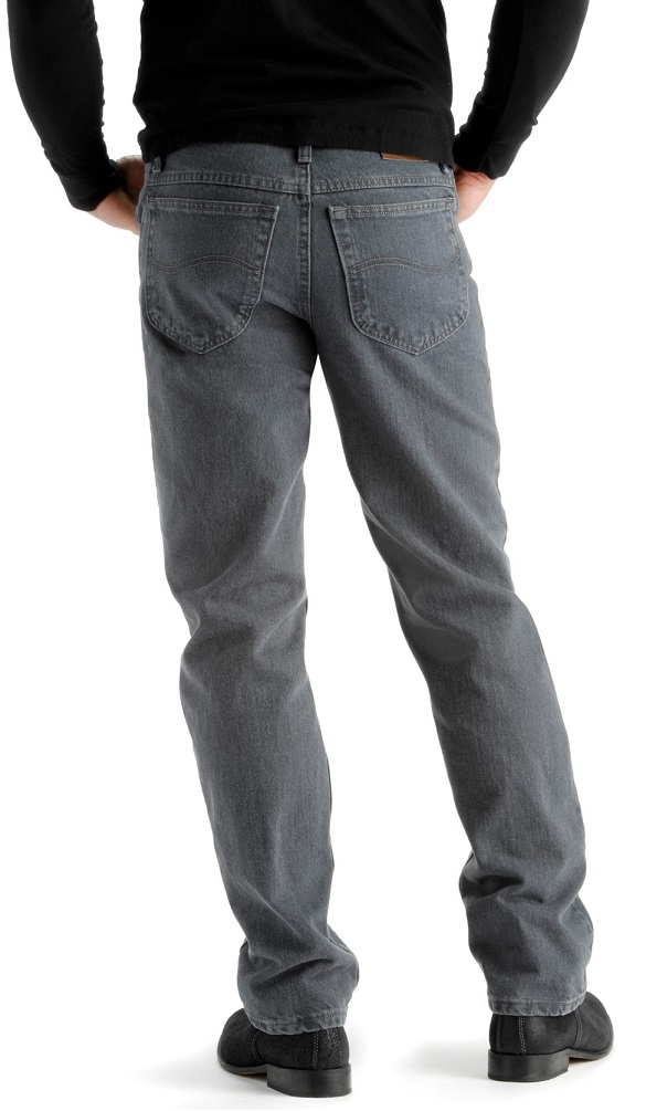 Casual Mens Straight Leg Jeans