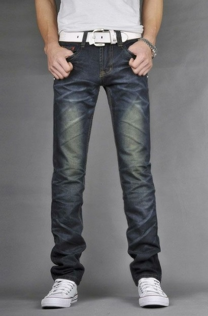 Casual Slim Fit Jeans For Men
