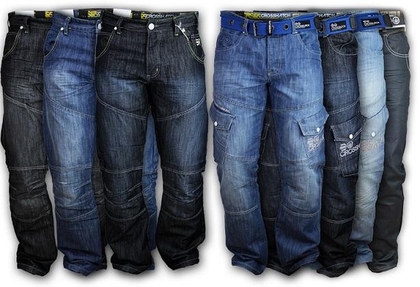 Corsshatch Denims Mens Cargo Jeans