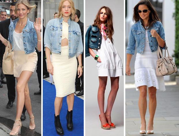 Denim Jeans Jacket For Women