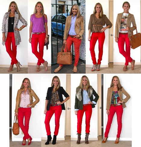 Discover Skinny Red Jeans For Women