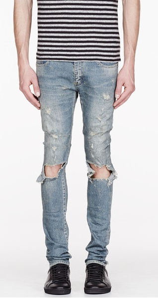 Discover The Coolness of Destroyed Denim Jeans