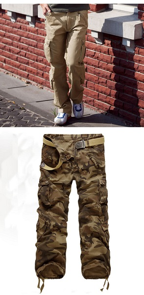 Find Big Mens Camo Cargo Pants Online