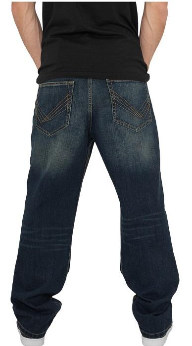 Get A Denim Baggy Fit Jeans