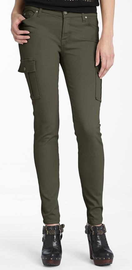 Get Skinny Cotton Cargo Pants