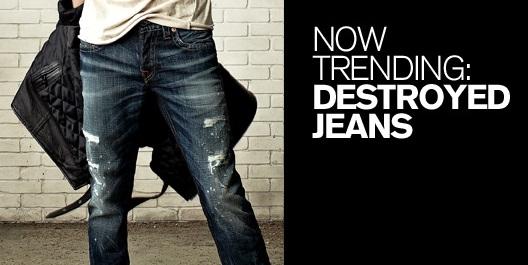 Get The Best Destroyed Jeans For Men