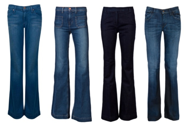 Get a High Waisted Flare Jeans for Women