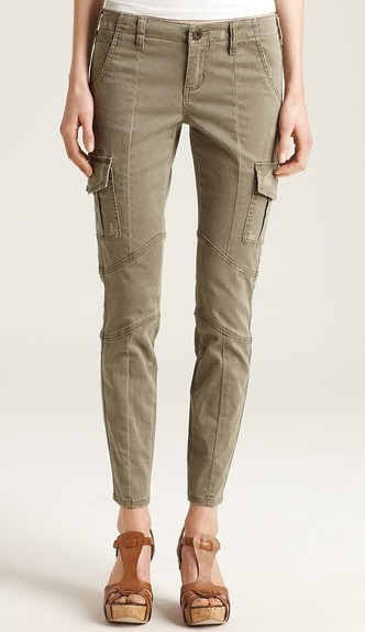 Guess Military Cargo Pants For Women
