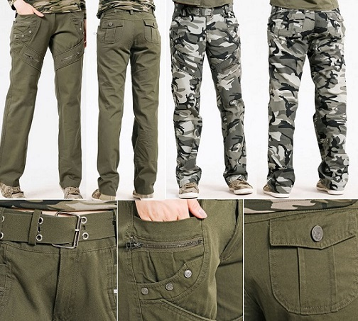 Hottest Army Fatigue Cargo Pants For Men