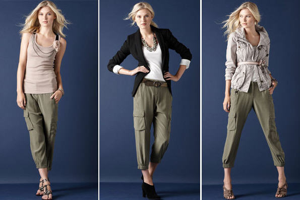 Hottest Womens Cargo Skinny Jeans