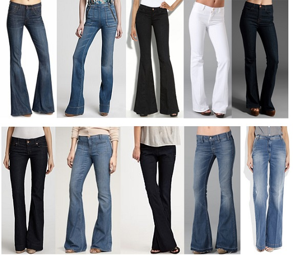Kinds of Womens Super Flare Jeans