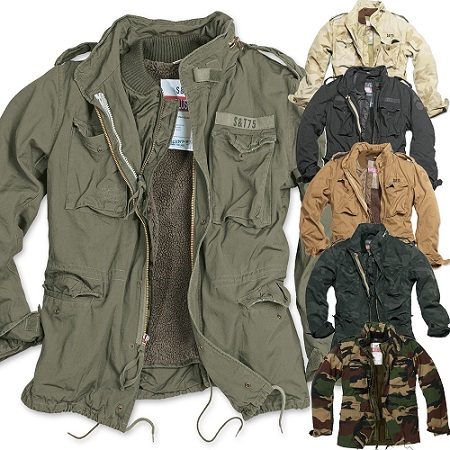Mens Army Field Jacket