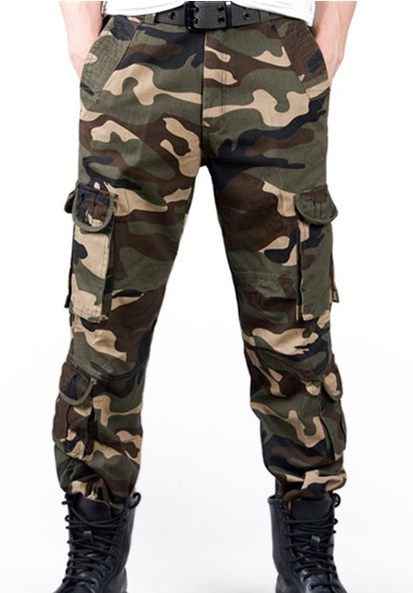 New Cargo Camouflage Pants