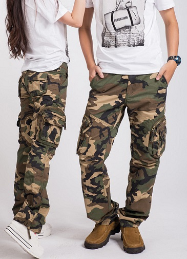 Popular Army Fatigue Cargo Pants For Men and Women