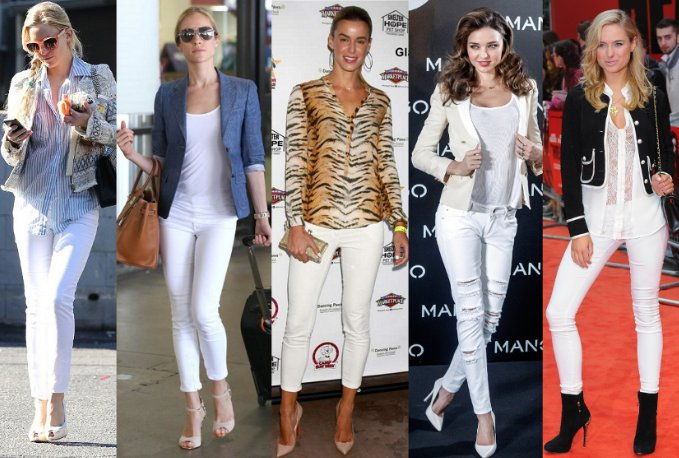 Pair Of White Jeans: An Essential Part Of Every Wardrobe | Camo Pants