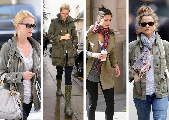 Popular and Stylish Army Green Jacket