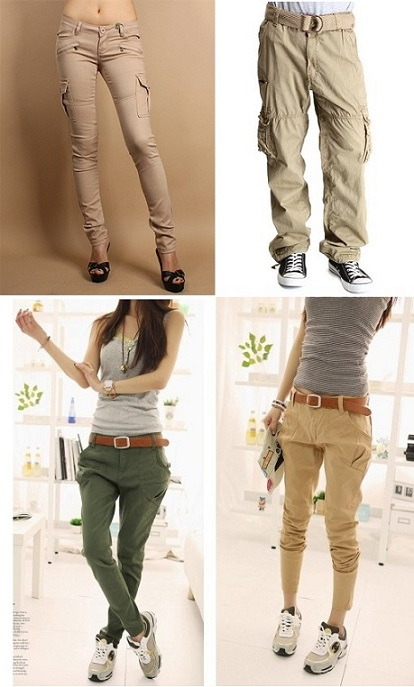 Popular and Trendy Khaki Cargo Pants For Men and Women