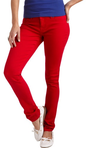 Red Rivet Juniors Skinny Jeans