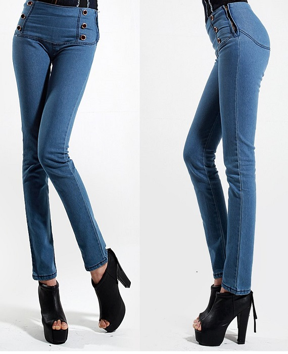 Sexy High Waisted Jeans