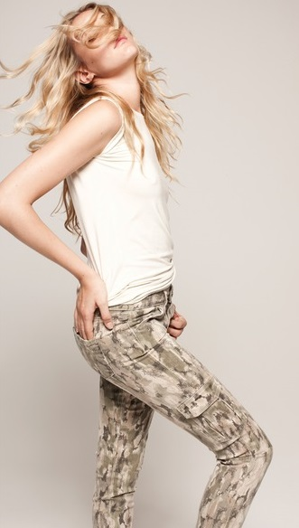 Sexy Military Style Cargo Pants For Women