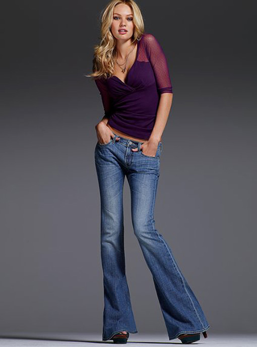 Sexy and Stylish Flare Jeans