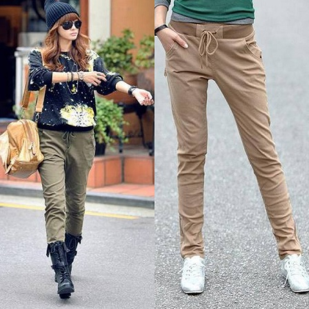 cute cargo pants for women - Pi Pants