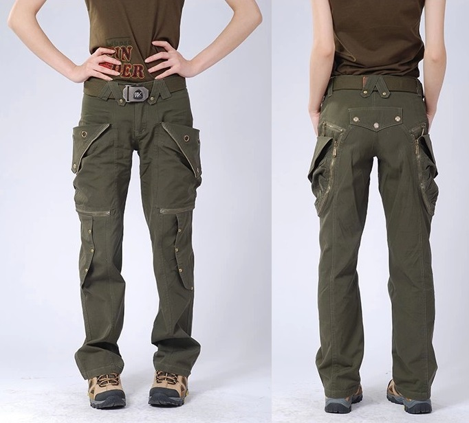The Different Ways Of Wearing Cargo Pants For Women | Camo Pants