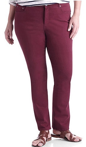 Shop for Plus Size Straight Leg Jeans