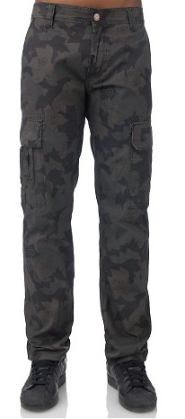 Stylish Black Military Cargo Pants