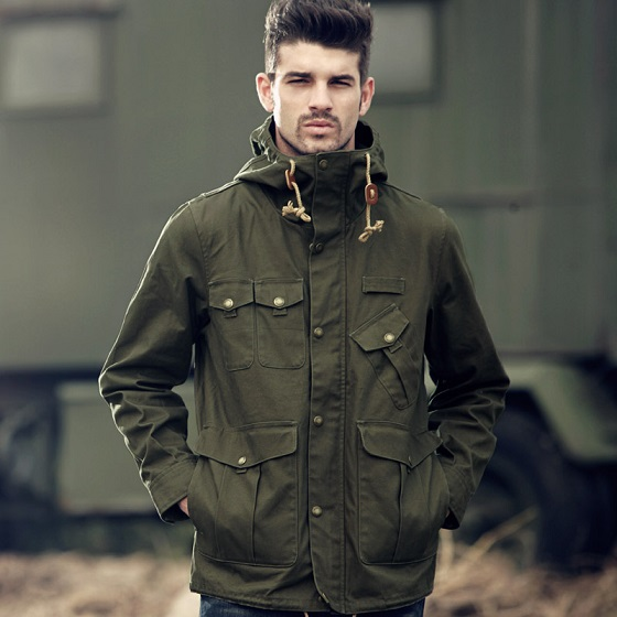 Military Jacket Fashion | Camo Pants