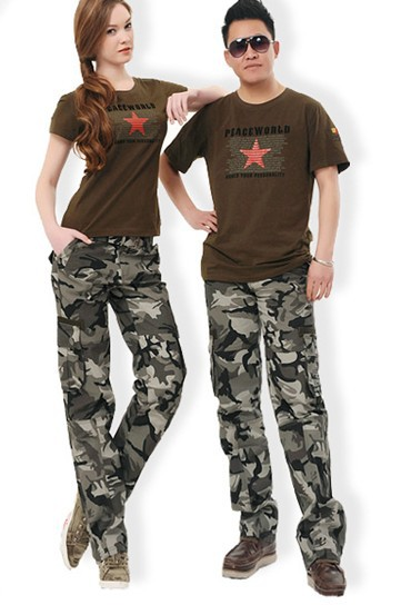 Trendy Camouflage Cargo Pants For Men and Women