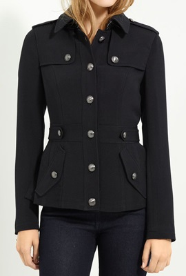 Trendy Womens Military Jacket