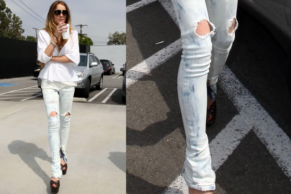 Trendy Womens Ripped Jeans