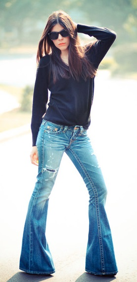 Where to Buy Skinny Flare Jeans