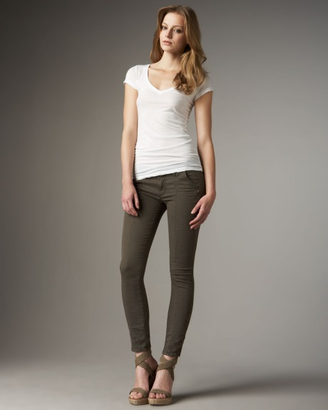 Where To Buy Army Green Skinny Jeans