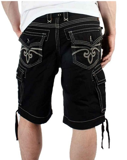 Cool Mens Pants Mens Cool Black Cargo Shorts